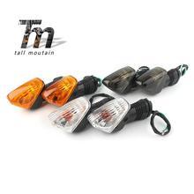 Rear Turn Signal Indicator Light For KAWASAKI Z750 Z1000 ZX-6R ZX-10R ZX-10RR NINJA 650R 1000 Motorcycle Blinker Lamp цена и фото