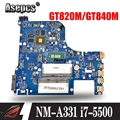 G70-80 Para Lenovo G70-70 B70-80 Z70-80 материнская плата AILG I7-5500U Rev1.0 DDR3L com GT840M/GT820M Teste 100% оригинал