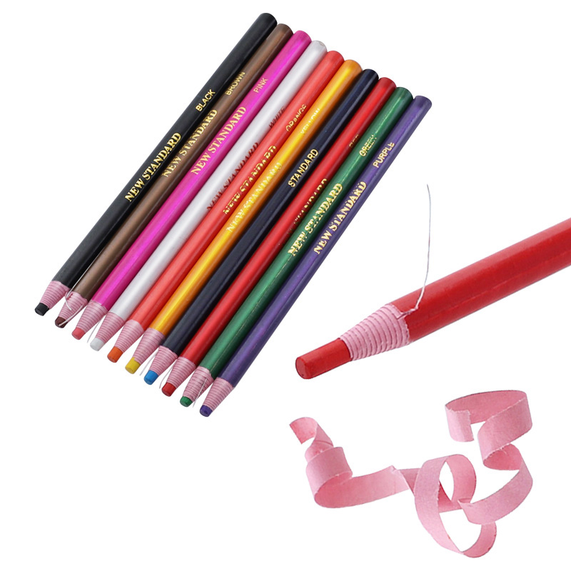2pcs China Markers 170mm Grease Pencil Peel Off Wax Pencil For China Glass Metal Plastic