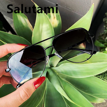 Oval Paw Alloy Women Sunglasses Australia Luxury Brand Aviation
