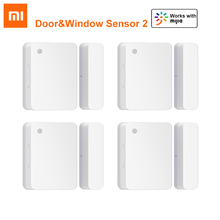 Xiaomi Smart Home Door Window Sensor 2 BlueTooth 5.1 Light Detection Opening Closing Records Unclosed Reminder Works with Mijia