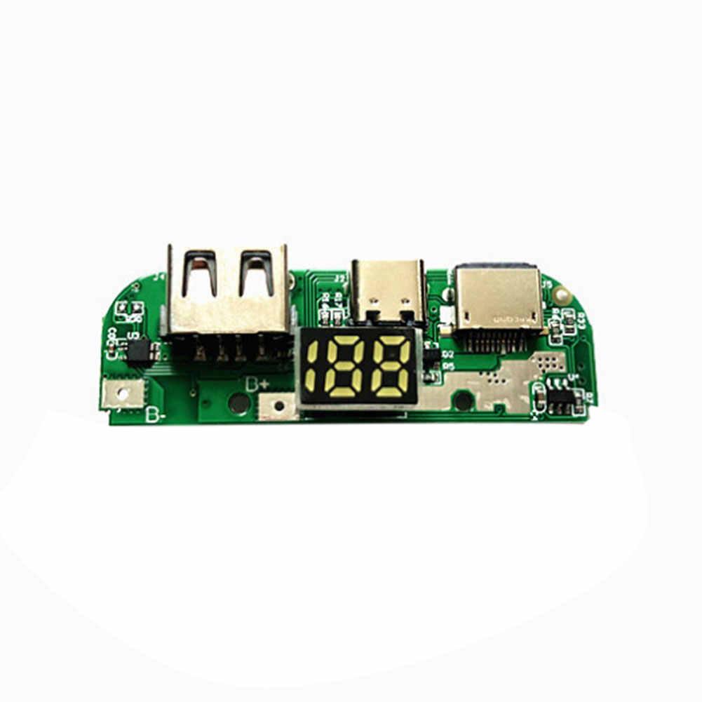 3 батареи аксессуар нет тип сварки C цифровой банк питания чехол Зарядное устройство коробка портативный двойной USB корпус DIY Led практичный