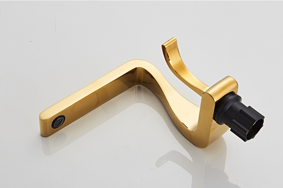 H0e30b85cc5f7417aa31f530d57e14e04f Tuqiu Basin Faucet Gold Bathroom Faucet Mixer Tap Brass Wash basin Faucet Hot and Cold Sink Faucet New Modern