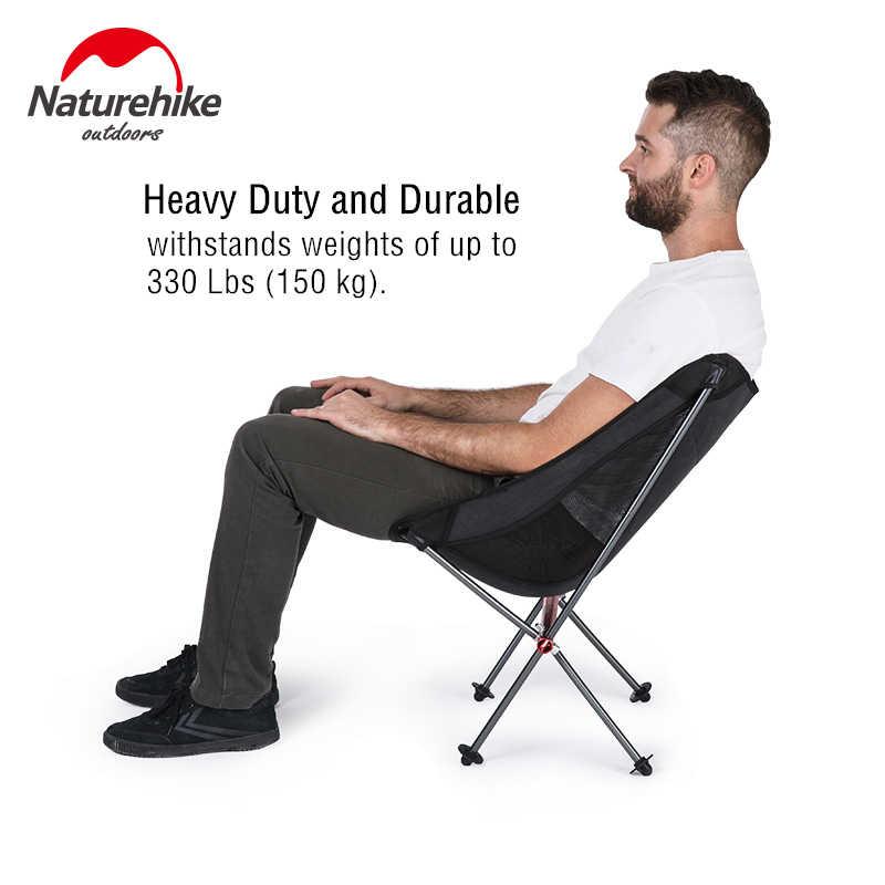 Naturehike składane przenośne krzesło plażowe składany lekki krzesło kempingowe plecak krzesło wędkarskie piknik na fotel YL05