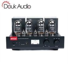 Douk audio Hi end Bluetooth Stereo zintegrowany KT88 Push Pull wzmacniacz lampy elektronowej słuchawki hi fi Amp