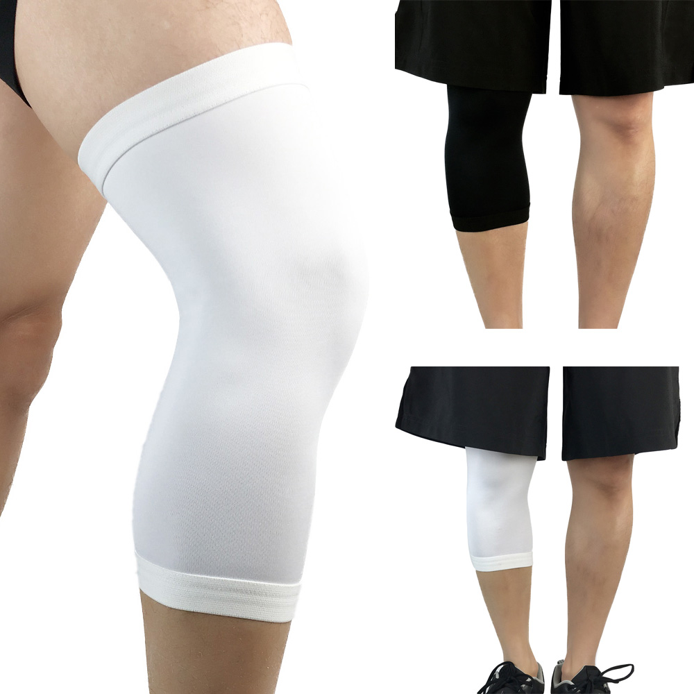 Sports Safety Knee Brace Training Elastic Knee Protection Compression Sleeve