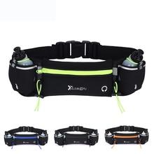 New Marathon Dual Pocket Running Bag Trail Running Waist Belt For Phone Unisex Sports Fanny Pack Fitness Waist Pack Water Bottle