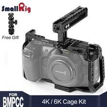 SmallRig BMPCC 4K Cage Kit for Blackmagic Design Pocket Cinema Camera 4K BMPCC 4K / BMPCC 6K Comes with Nato Handle SSD Mount jtz dp30 camera cage baseplate shoulder rig kit for blackmagic ursa mini 4k 4 6k