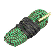 22 Cal.223 Cal.38 Cal.357 Cal 5.56mm,9mm,7.62mm,4.5mm Calibre Snake Rope Rifle Cleaning Barrel Hunting Gun Bore Cleaner Snake. цена 2017
