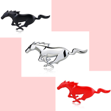 3D Metal Running Paard Decal Auto Decoratie Lichaam Auto Stickers Accessoires Universele Voor Ford Mustang Shelby GT Auto Styling