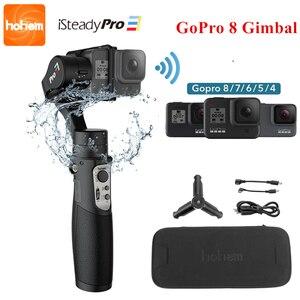 Image 1 - 3 осевой карданный стабилизатор для экшн камеры GoPro 8 ручной карданный стабилизатор для Gopro Hero 8,7,6,5,4,3, Osmo Action Hohem iSteady Pro 3