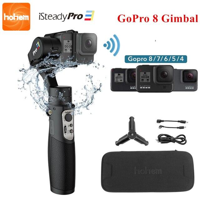 3 осевой карданный стабилизатор для экшн камеры GoPro 8 ручной карданный стабилизатор для Gopro Hero 8,7,6,5,4,3, Osmo Action Hohem iSteady Pro 3