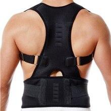 Spine Back Support Belt For Men Women Straightener Black Sho