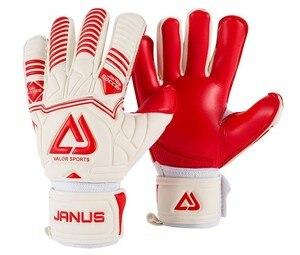 Image 2 - Professional Adult&Kids Football Goalkeeper Gloves Men Soccer Goalie Gloves CONTACT full latex finger detachable inner seam