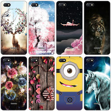 silicone case for Xiaomi Redmi 6a Case 360 Full Protection Soft tpu Back Cover Phone shell Xiomi Redmi6 A bumper Hongmi 6a Coque(China)