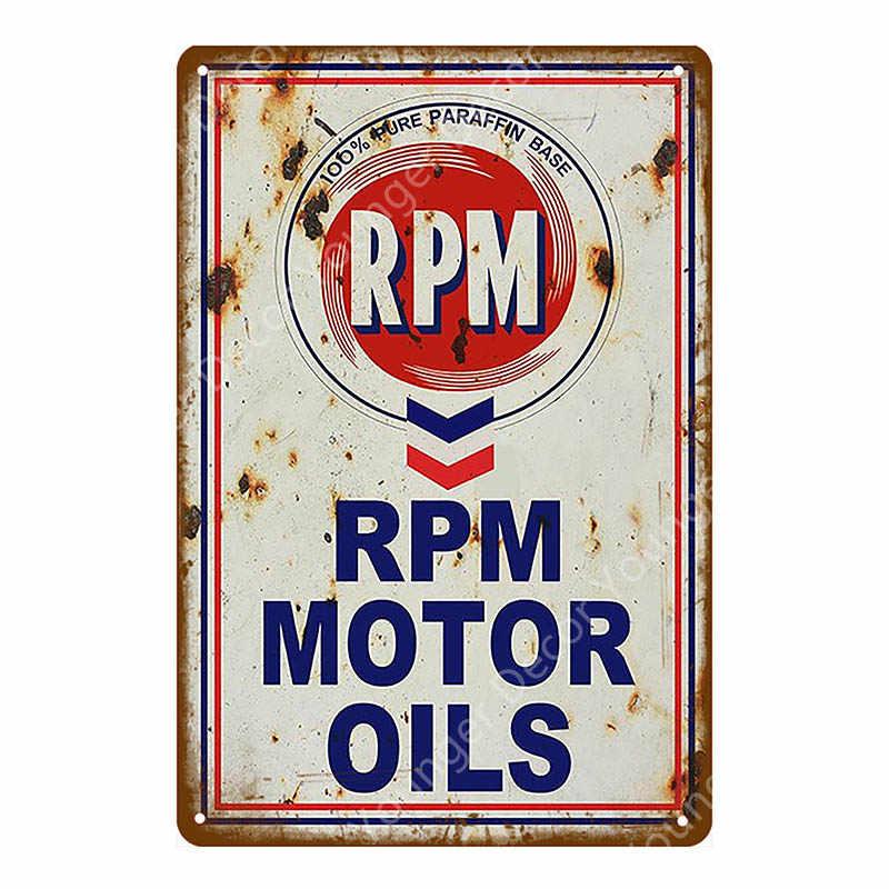 Texaco Motor Öl Plaque Zinn Zeichen Vintage Retro Garage Decor Bar Pub Gas Station Dekorative Platte Triumph Wand Poster YA026
