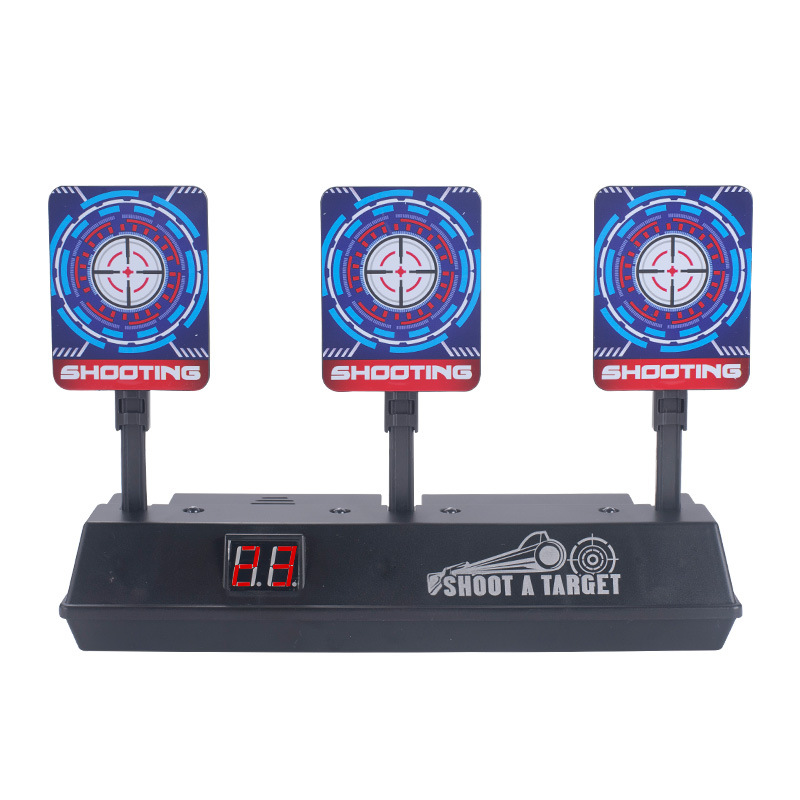 Sound And Light Electronic Scoring Target Electric Scoring Automatic Return Target Water Gun Practice Target Toy
