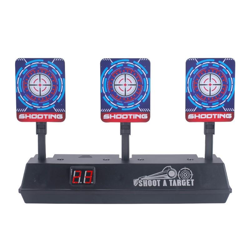 Sound And Light Electronic Scoring Target Electric Scoring Automatic Return Target Water Gun Practice Target Toy