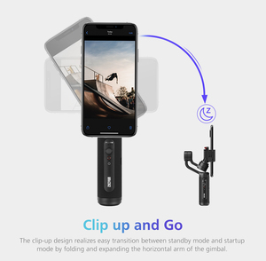 Image 5 - Zhiyun Smooth Q2 Truly Pocket Size Portable 3 Axis Smartphone Handheld Gimbal for iPhone 11 Pro Max XS X 8P 8 Samsung S10 S9 S8