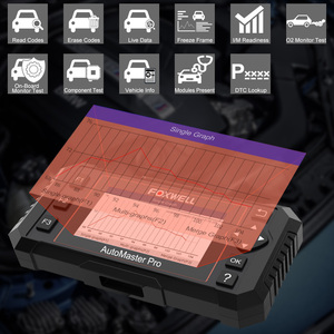 Image 2 - Foxwell NT614 Elite OBD2 Automotive Scanner Motore ABS Airbag AL Sistema EPB Reset Olio Codice Leggi Scanner ODB2 Strumento di Diagnostica