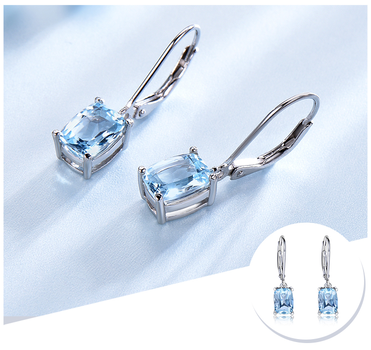 H0e32d6b13288481f9f1e2178d1548620l - UMCHO Genuine 925 Sterling Silver Sky Blue Topaz Drop Earrings Elegant Gemstone Wedding Engagement Jewelry For Women Gifts