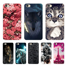 Silicone Cover For Xiaomi Redmi note5a note 5a Case 5.5' Printing Animal Cases for Xiao mi Xiomi Redmi note 5 a 5a Phone Cover(China)