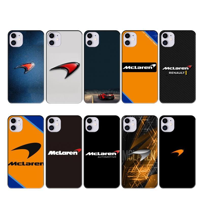 iphone 11 case MCLAREN case coque fundas for iphone 11 PRO MAX X XS XR 4S 5S 6S 7 8 PLUS SE 2020 cases cover
