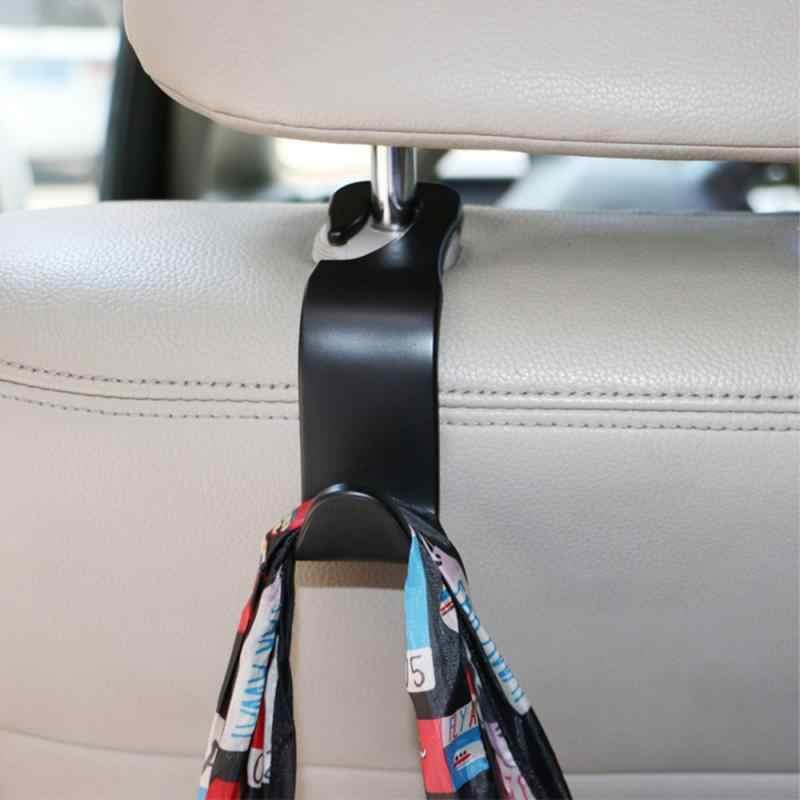 سيارة المقعد الخلفي هوك الداخلية منتجات السيارات السنانير لتعليق شماعات سيارة مقسم حقيبة هوك مسند الرأس بالمقعد حامل اكسسوارات السيارات