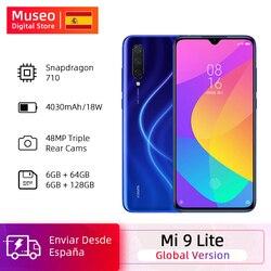 Globale versione Xiaomi Mi 9 Lite 6GB 64GB Smartphone Snapdragon 710 Octa Core 48MP Triplice 32MP Fotocamera frontale 4030mAh NFC