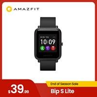 Amazfit-reloj inteligente Bip S Lite, resistente al agua hasta 5 ATM, notificaciones Push-up, versión Global, 2020