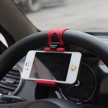 Mount-Holder Phone-Clip Car-Steering-Wheel Gps-Stand-Bracket Bike Universal Samsung