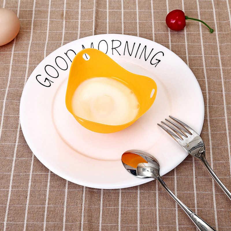 Elastyczne woreczki na jajka narzędzia kuchenne odporne na ciepło Food Grade jajo silikonowe kłusownictwo kubek pasuje do naczyń kuchenka mikrofalowa kuchenka mikrofalowa
