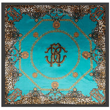 Шелковые атласные шарфы 90*90 см для женщин роскошный платок