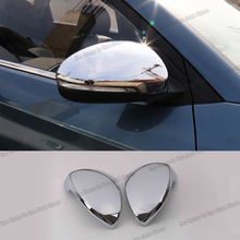 Lsrtw2017 Abs Car Rearview Cover Trims Anti-scratch Protector for Hyundai Tucson 2019 2020 Accessories Chrome lsrtw2017 abs car rearview rain shield strip trims for hyundai tucson 2015 2016 2017 2018 2019 2020