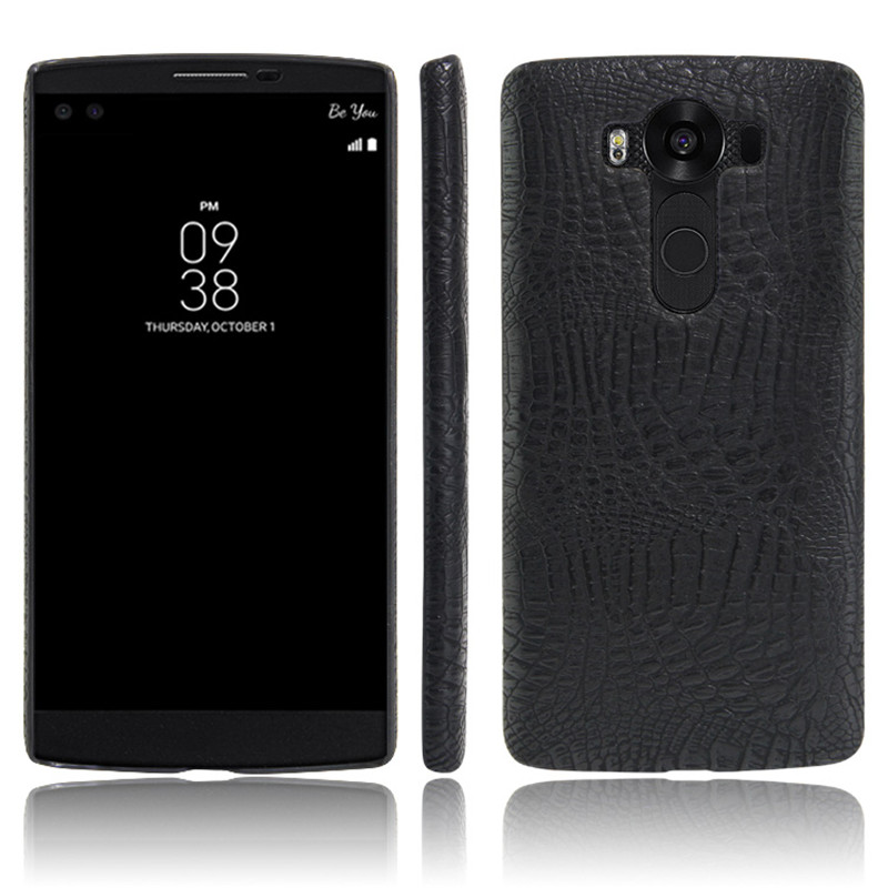 For LG V10 Case LG V10 Case Cover 5.7 Crocodile PU Leather Phone Case For LG V10 V 10 H961S H961 H960 H960A F600 H968 LGV10 Case