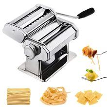 Stainless Steel Nudeln Machine Lasagne Spaghetti Tagliatelle Ravioli Noodle Maker Machine Kitchen Pasta Tool Noodle Pasta Maker