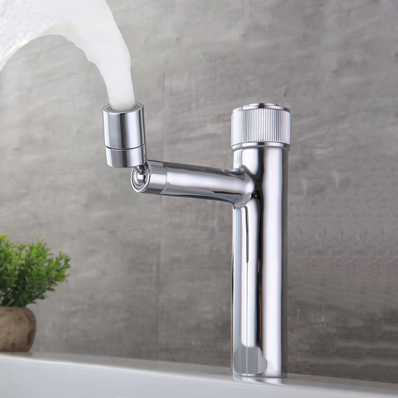 Bidet Faucets Basin Mixer Faucet Bathroom Sink Faucet Chrome Brass Single Handle Hole Basin Mixer Taps Wash Hot and Cold Faucet