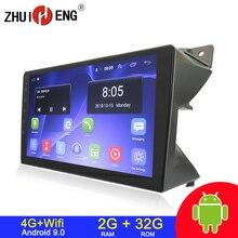 Autoradio Android 9.1, lecteur dvd de voiture, 2 go/32 go, wifi, 4G, audio stéréo, 2 din, pour voiture Suzuki Alto (2009 2013)