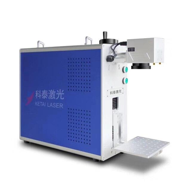 20w najwyższa jakość maszyna do znakowania laserem światłowodowym przenośna mała maszyna do grawerowania metali Cola tablica rejestracyjna stall maszyna kodująca