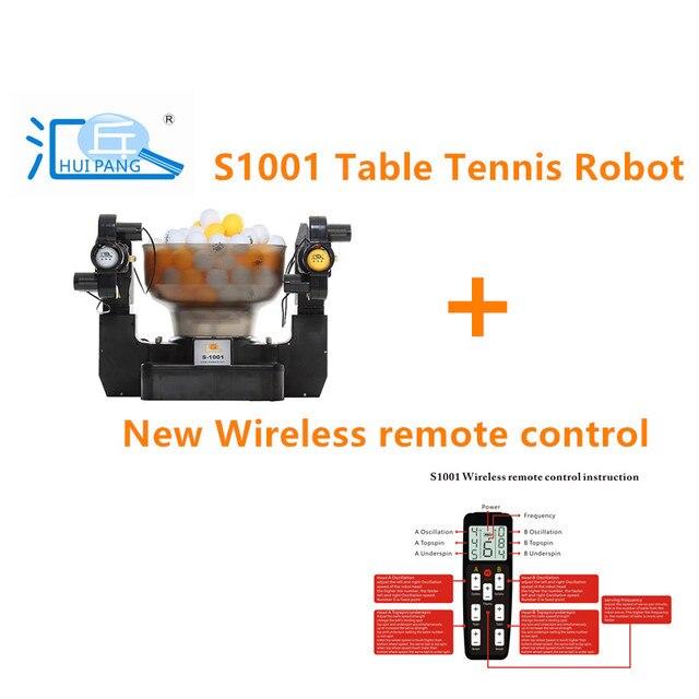 Huipang S 1001 tênis de mesa robô/máquina mulfunctional econômico portátil bom parceiro para a prática