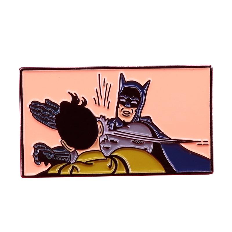 Batman Adam West battle brooch DC Comics fans great collection