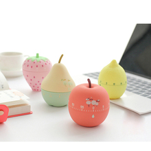 Kitchen Timer Mechanical 60 Minutes Magnetic Countdown Timer Cooking Shower Children Study Egg Alarm Clock Cute Home Decoration cute animal model kitchen timer mechanical alarm clock without battery reminders timer 7 8 7 2cm free shipping