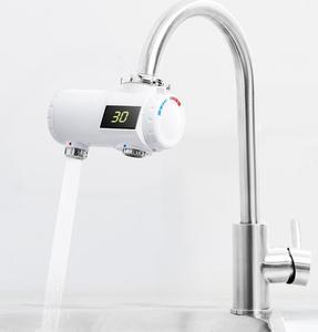 Image 4 - Youpin Xiaoda 인스턴트 난방 수도꼭지 전기 온수기 30 50 ° c LED 디지털 빛으로 차가운 따뜻한 조절 방수 수도꼭지