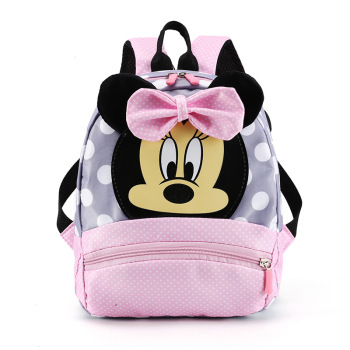 Disney Mickey Mouse Minnie Childrens Backpack School Cartoon Cute Backpacks Travel Bag Small Bookbag Canvas