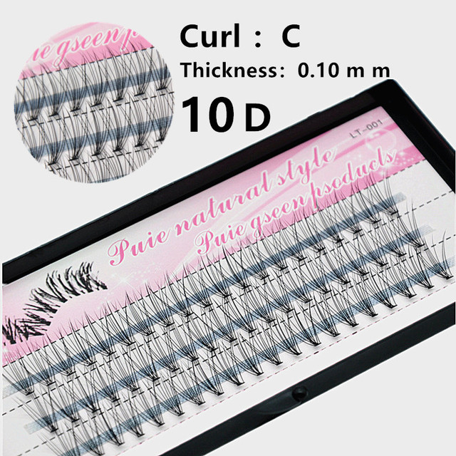 1 Case False Eyelashes Natural Fake False Long Curl Synthetic Hair Eye Lashes Professional Beauty Makeup Grafted eyelashes