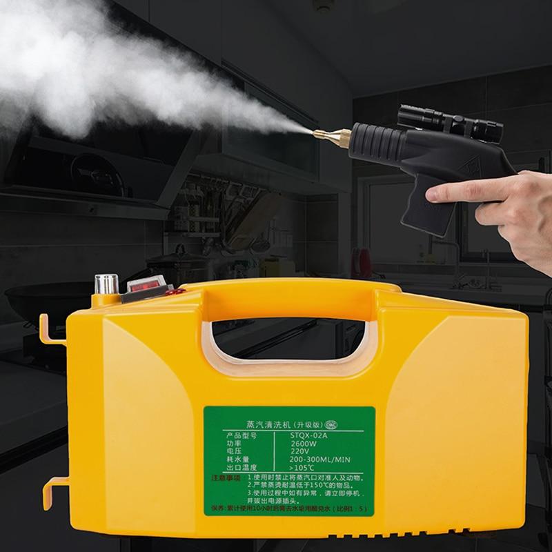 Steam Cleaner Kitchen Disinfection High Temperature Steam Cleaner for Air conditioner Hood Sterilization Anti- Coronavirus 110V 1