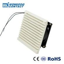 Вентиляционный фильтр для шкафа, набор жалюзи, крышка вентилятора, решетка, система вентиляции воздуха, вентилятор, фильтр, FK-3321-230 с вентилятором