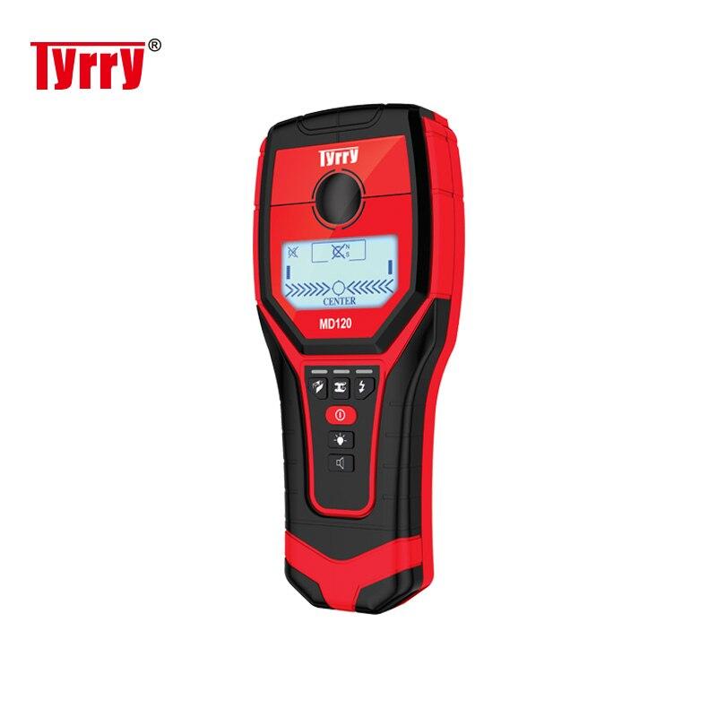 TYRRY détecteur de métaux portable haute sensibilité nouveau détecteur de mur trouver magnétique métal bois goujons cuivre détecteur mur Scanner