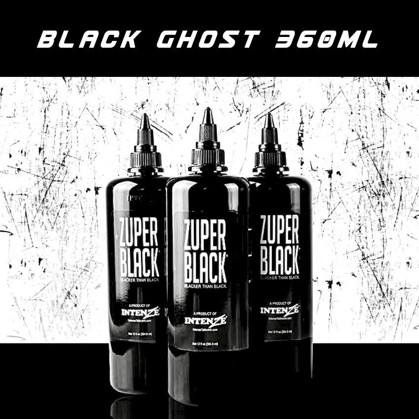 (360ml) Tattoo Ink Bottle Zuper Black Tattoo Pigment Paint Paint 4