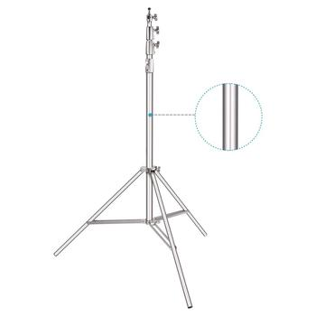 Neewer Heavy-Duty Light Stand 13 Feet/4 Meters Spring Cushioned Aluminum Alloy Pro Photography Tripod Stand Photo Studio Adjust